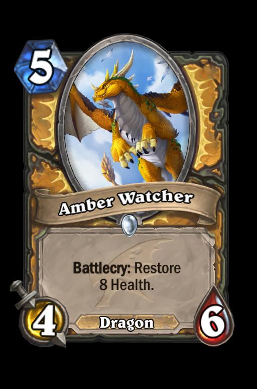 Amber Watcher Hearthstone kártya