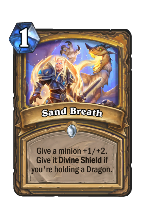 Sand Breath Hearthstone kártya