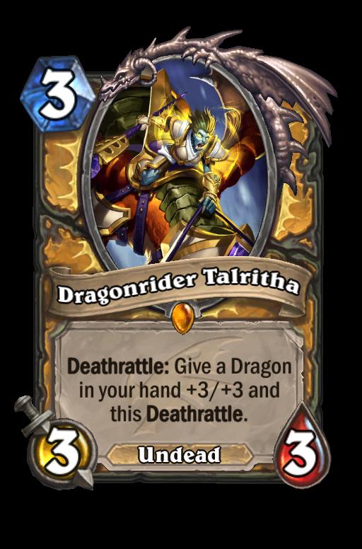 Dragonrider Talritha Hearthstone kártya