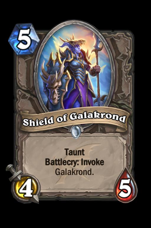 Shield of Galakrond Hearthstone kártya
