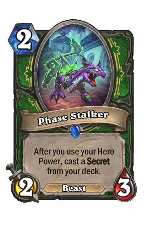 Phase Stalker Hearthstone kártya