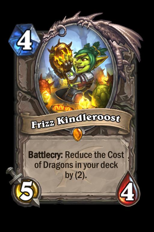 Frizz Kindleroost Hearthstone kártya