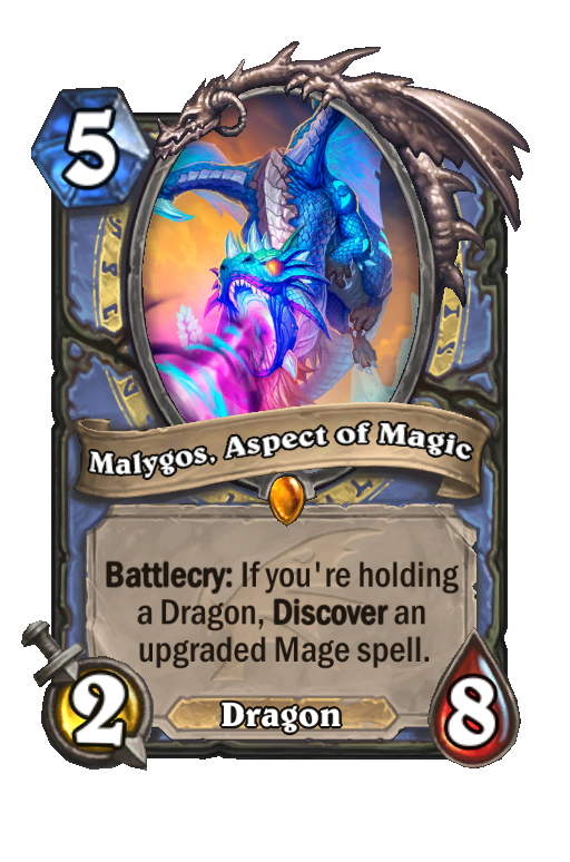 Malygos, Aspect of Magic Hearthstone kártya