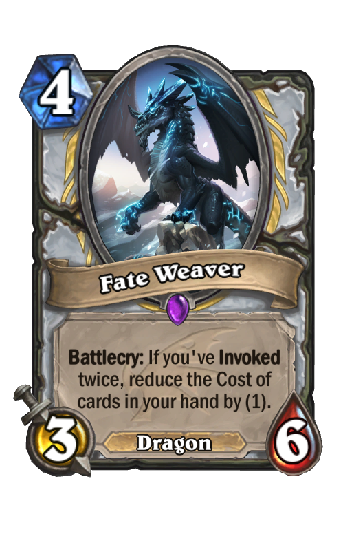 Fate Weaver Hearthstone kártya