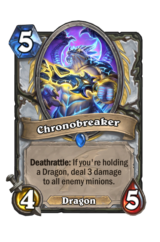 Chronobreaker Hearthstone kártya