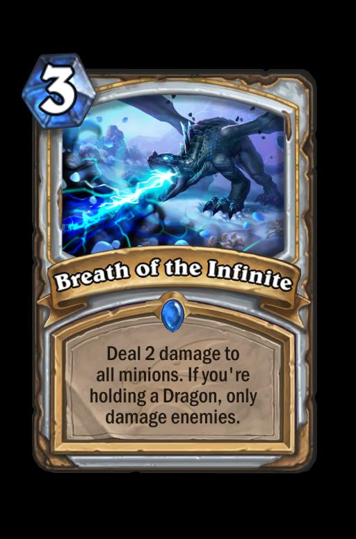 Breath of the Infinite Hearthstone kártya
