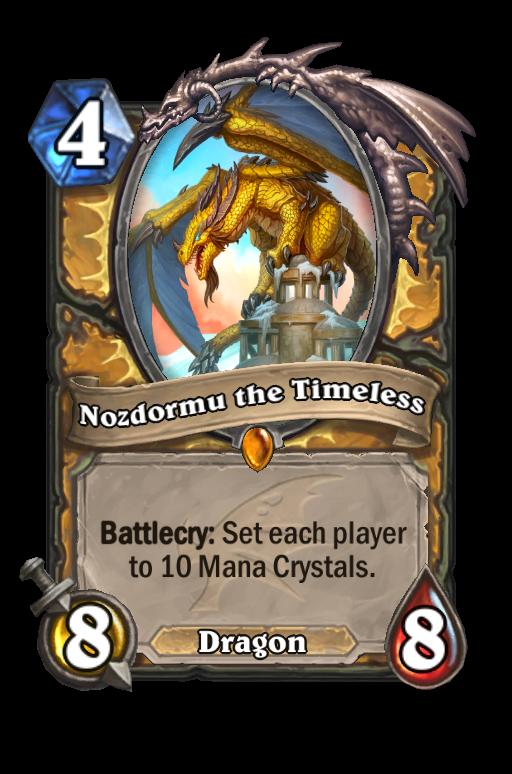 Nozdormu the Timeless Hearthstone kártya
