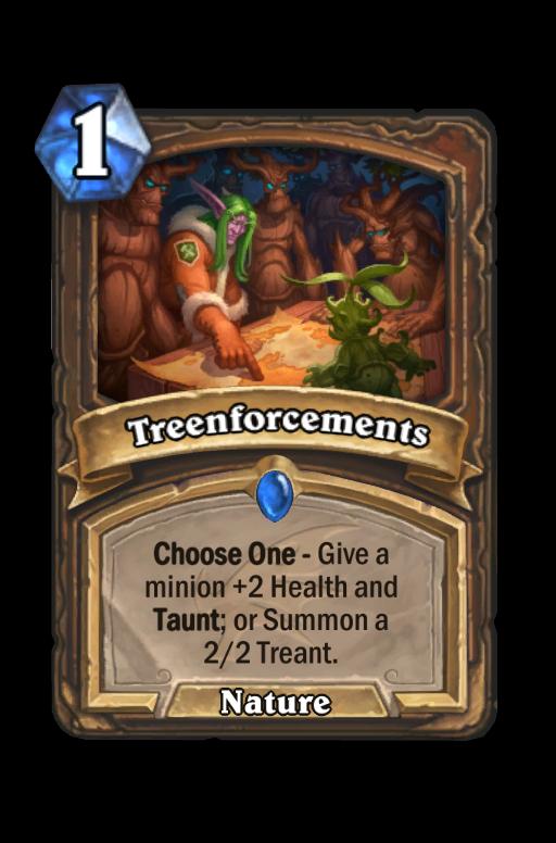 Treenforcements Hearthstone kártya