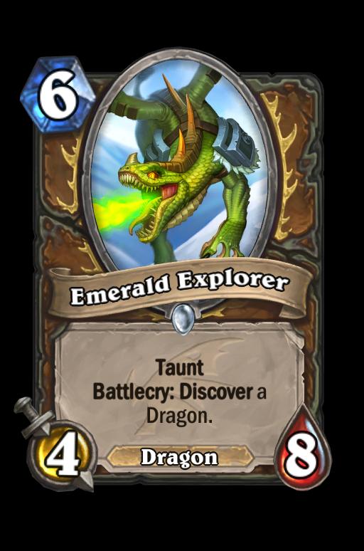 Emerald Explorer Hearthstone kártya