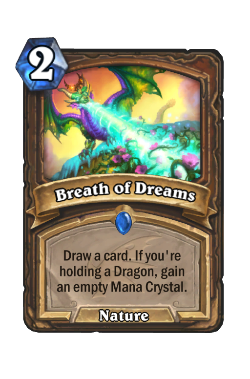 Breath of Dreams Hearthstone kártya