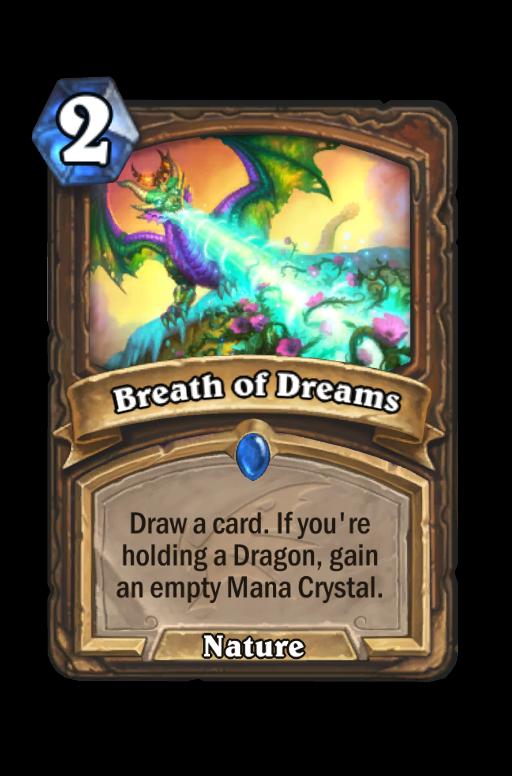 Breath of Dreams Hearthstone kártya
