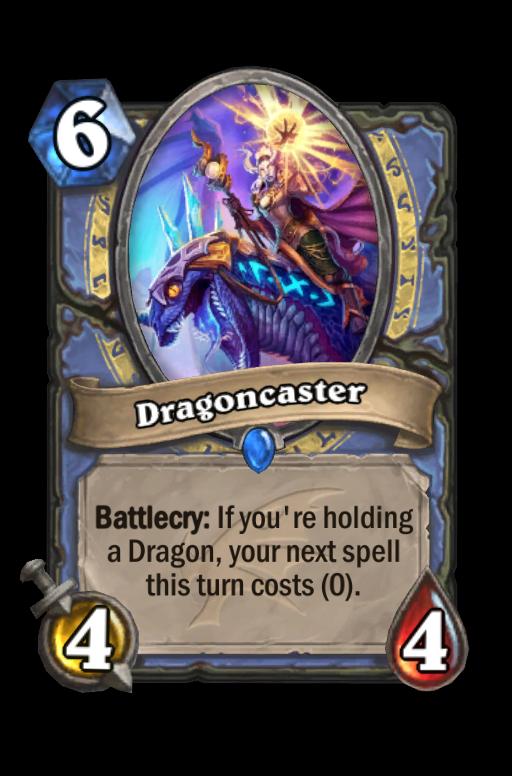 Dragoncaster Hearthstone kártya