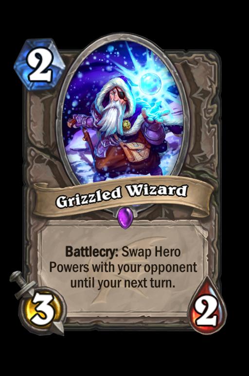 Grizzled Wizard Hearthstone kártya