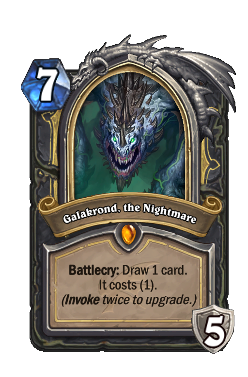 Galakrond, the Nightmare Hearthstone kártya
