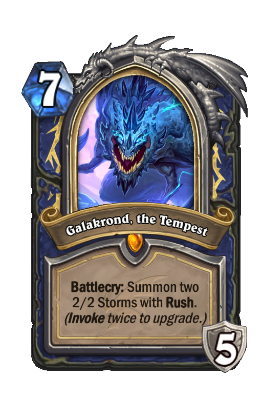 Galakrond, the Tempest Hearthstone kártya