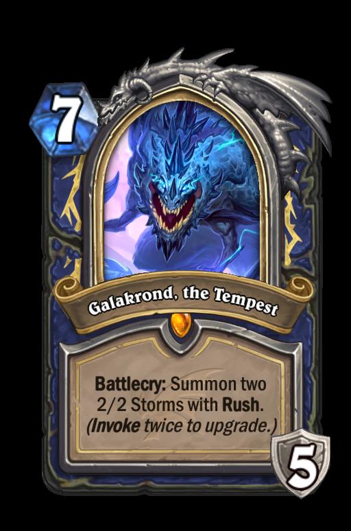 Galakrond, the Tempest Hearthstone kártya