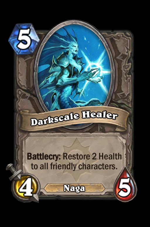 Darkscale Healer Hearthstone kártya