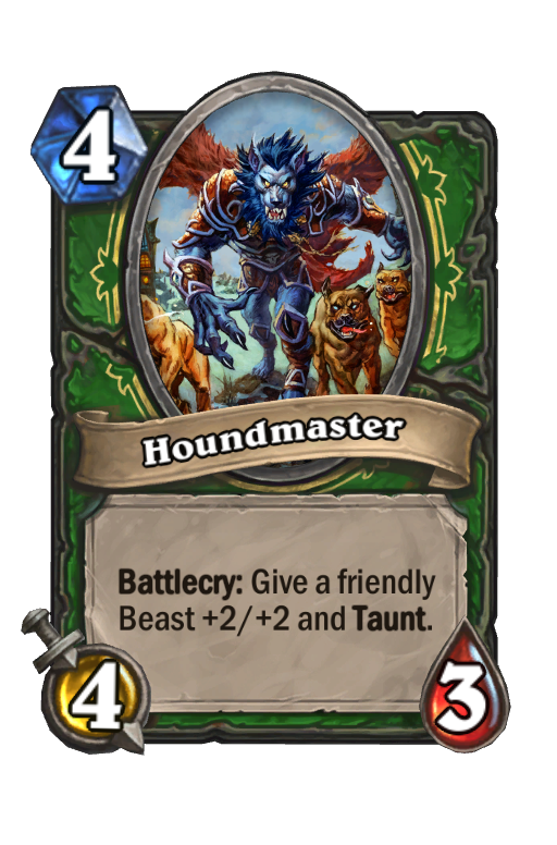Houndmaster Hearthstone kártya