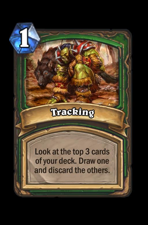 Tracking Hearthstone kártya