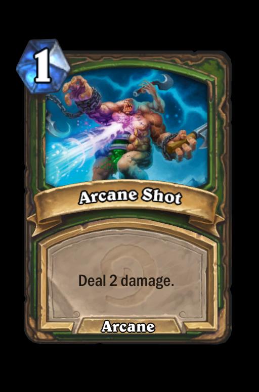Arcane Shot Hearthstone kártya