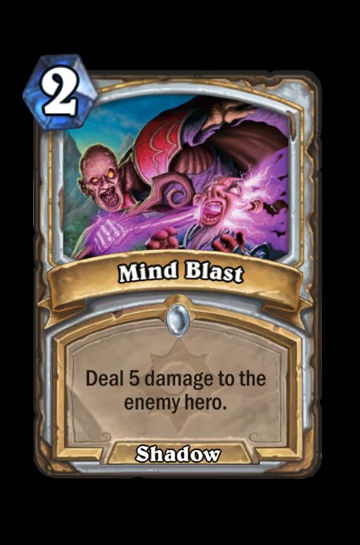 Mind BlastHearthstone kártya