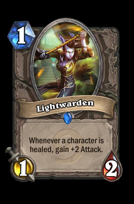 Lightwarden Hearthstone kártya
