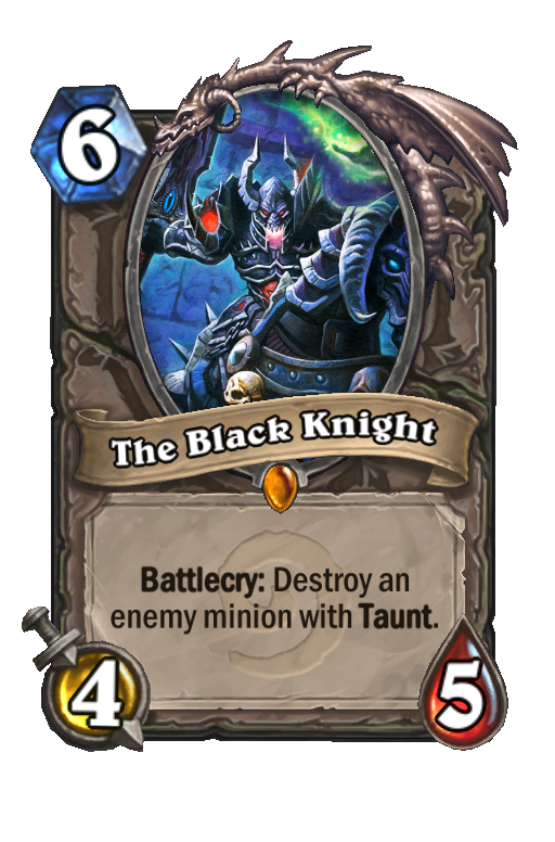 The Black Knight Hearthstone kártya