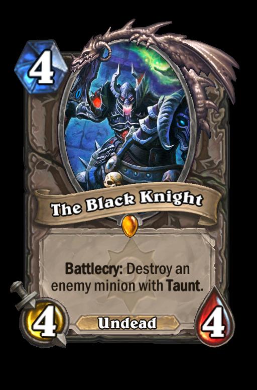 The Black Knight Hearthstone kártya