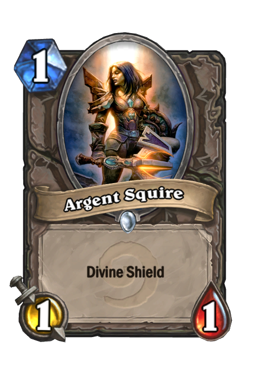 Argent Squire Hearthstone kártya