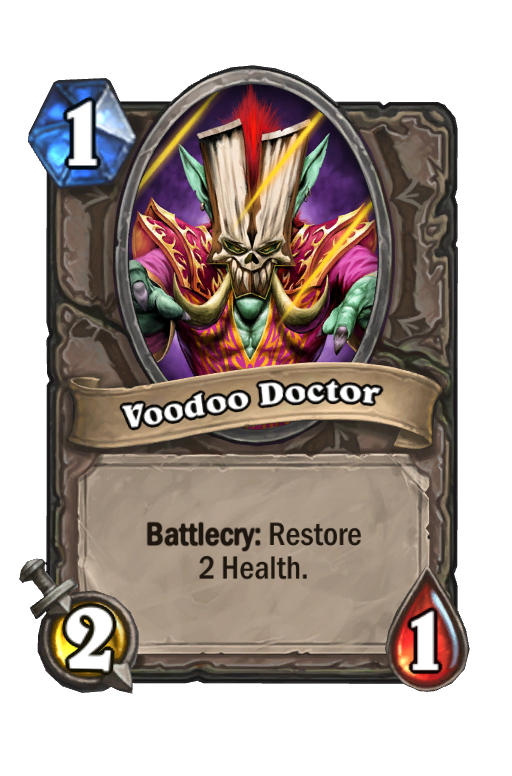 Voodoo DoctorHearthstone kártya