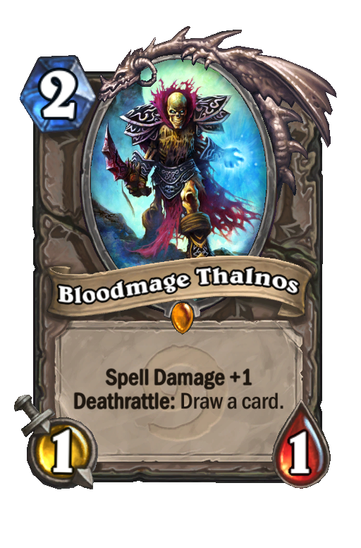 Bloodmage Thalnos Hearthstone