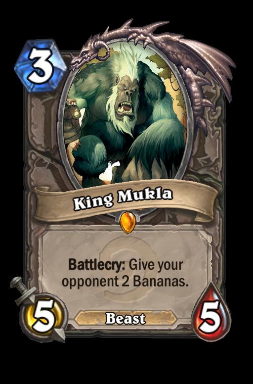 King Mukla Hearthstone kártya
