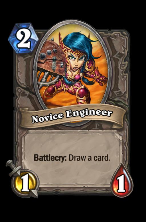 Novice Engineer Hearthstone kártya