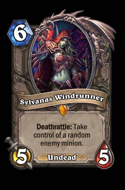 Sylvanas Windrunner Hearthstone kártya
