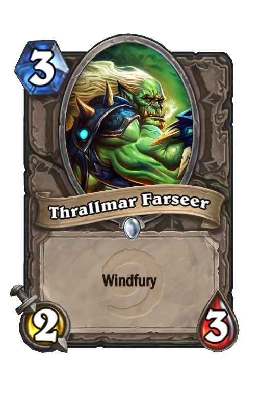 Thrallmar Farseer Hearthstone kártya