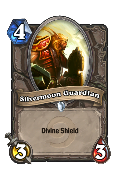 Silvermoon Guardian Hearthstone kártya