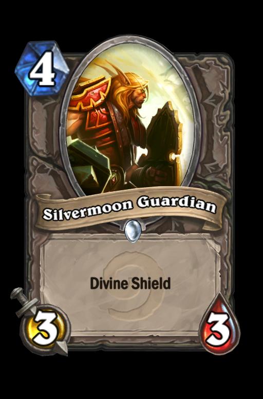 Silvermoon Guardian Hearthstone kártya