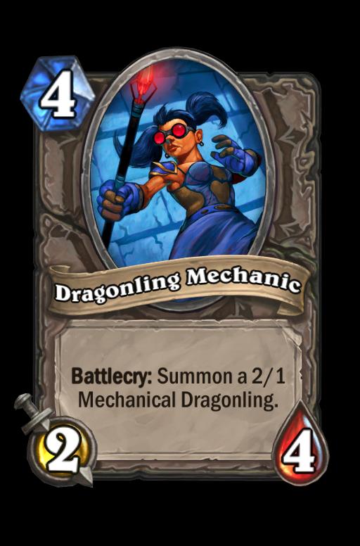 Dragonling Mechanic Hearthstone kártya