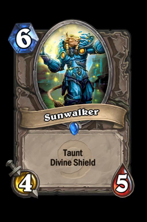 Sunwalker Hearthstone kártya