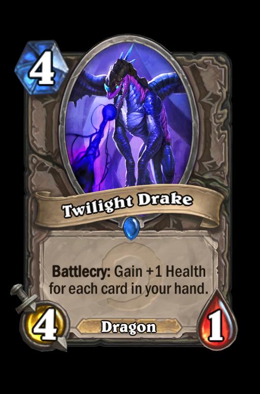 Twilight Drake Hearthstone kártya