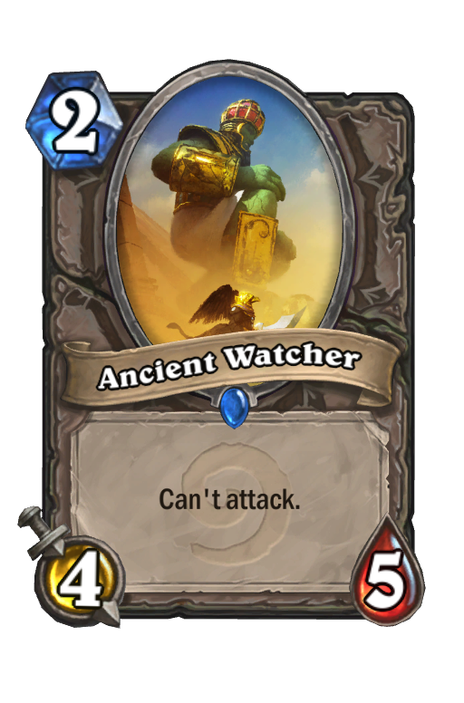 Ancient Watcher Hearthstone