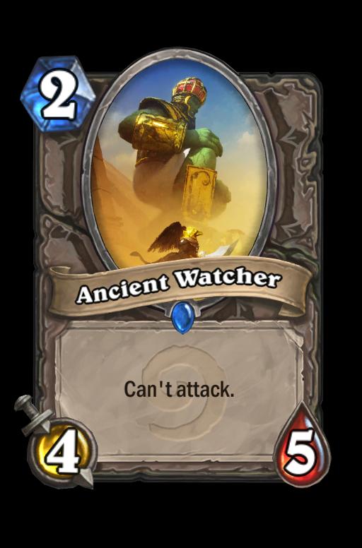 Ancient Watcher Hearthstone kártya