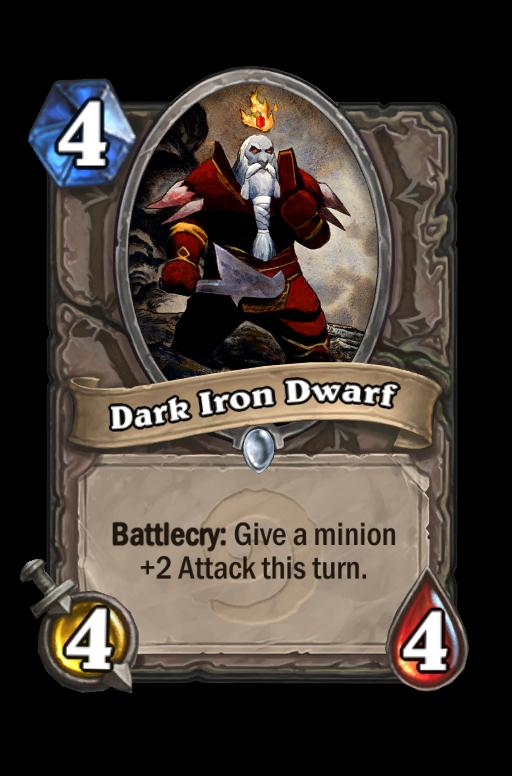 Dark Iron DwarfHearthstone kártya