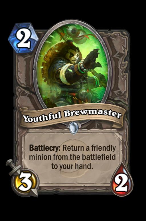 Youthful Brewmaster Hearthstone kártya