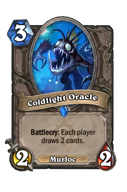 Coldlight Oracle Hearthstone kártya