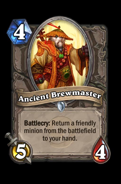 Ancient BrewmasterHearthstone kártya