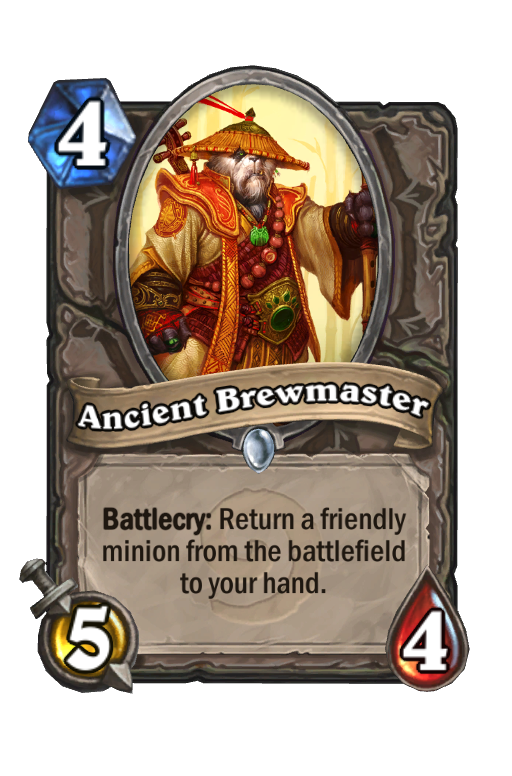 Ancient Brewmaster Hearthstone kártya