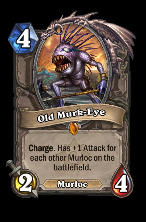 Old Murk-Eye Hearthstone kártya