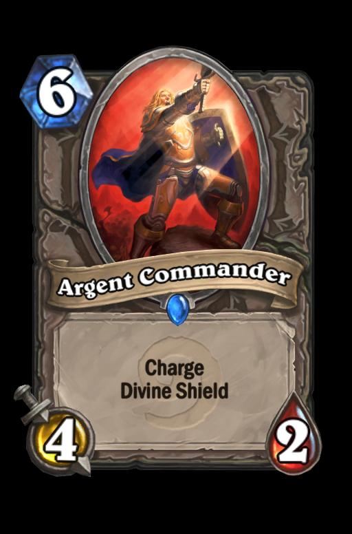 Argent Commander Hearthstone kártya