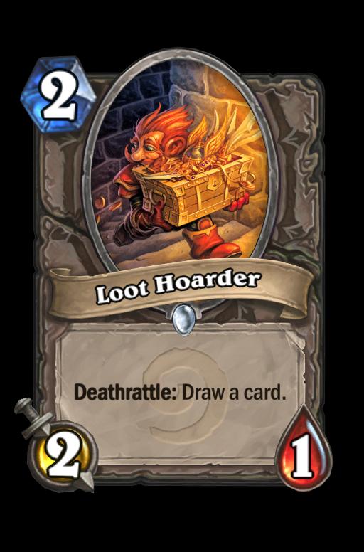 Loot HoarderHearthstone kártya